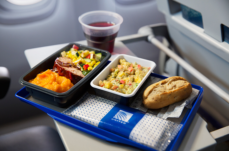 United Rolling Back International Economy Meal Service