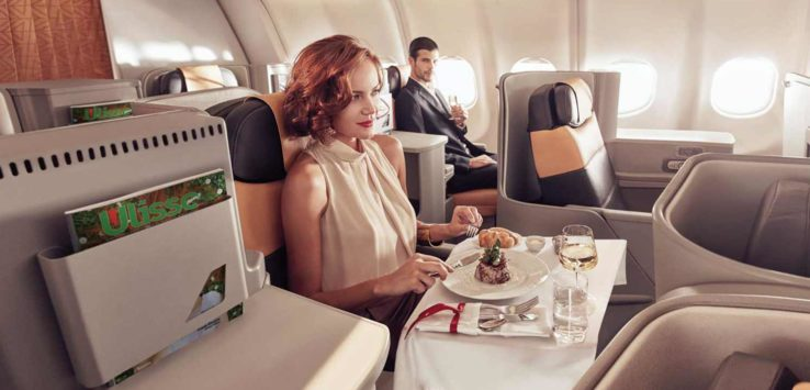 Alitalia Business Class Award