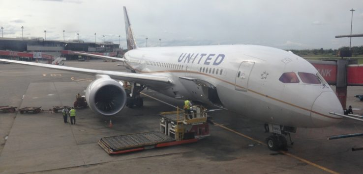United Airlines' Lagos