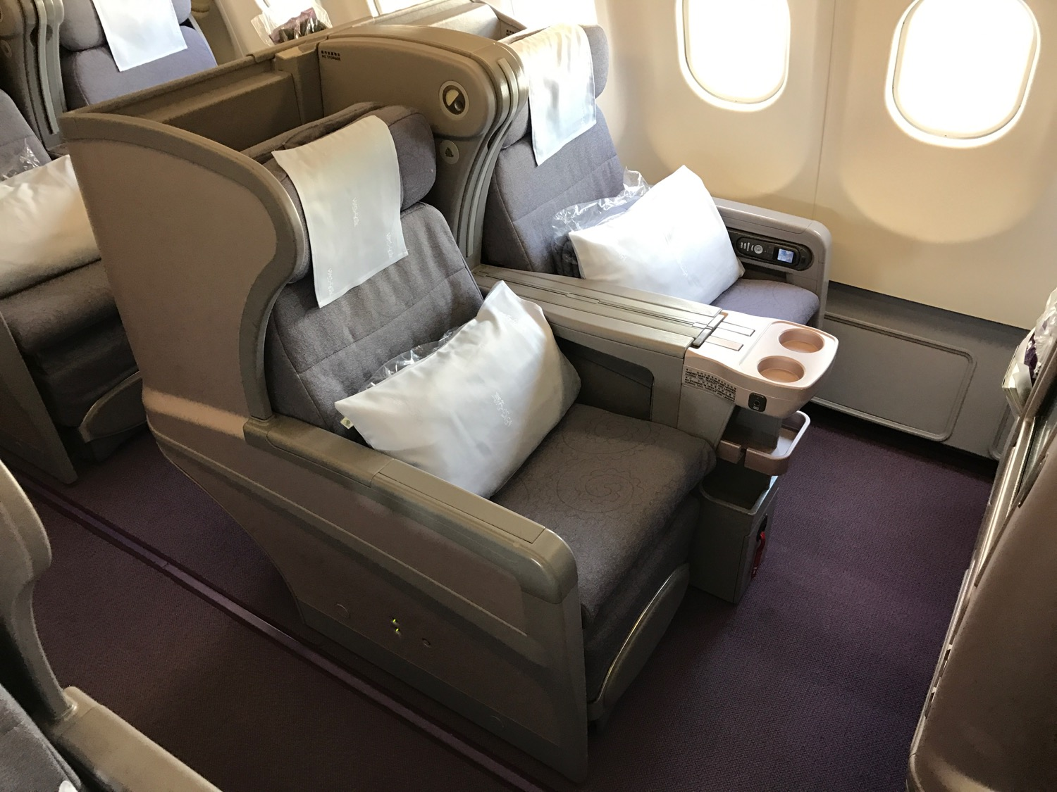 China Airlines A330 Business Class - 9