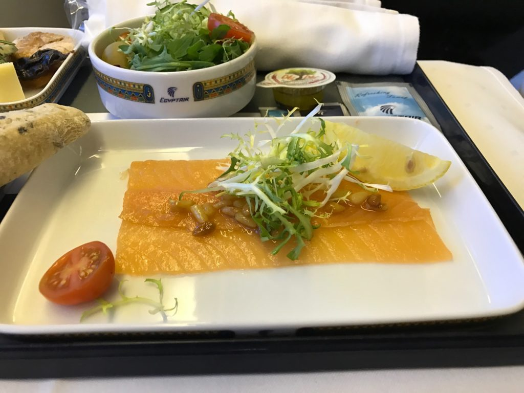 EgpytAir London to Cairo 777-300 Business Class - 56