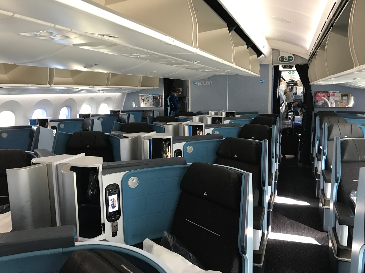 KLM 787-9 World Business Class - 3
