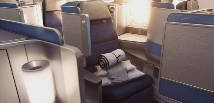 United Polaris 777-300ER auction