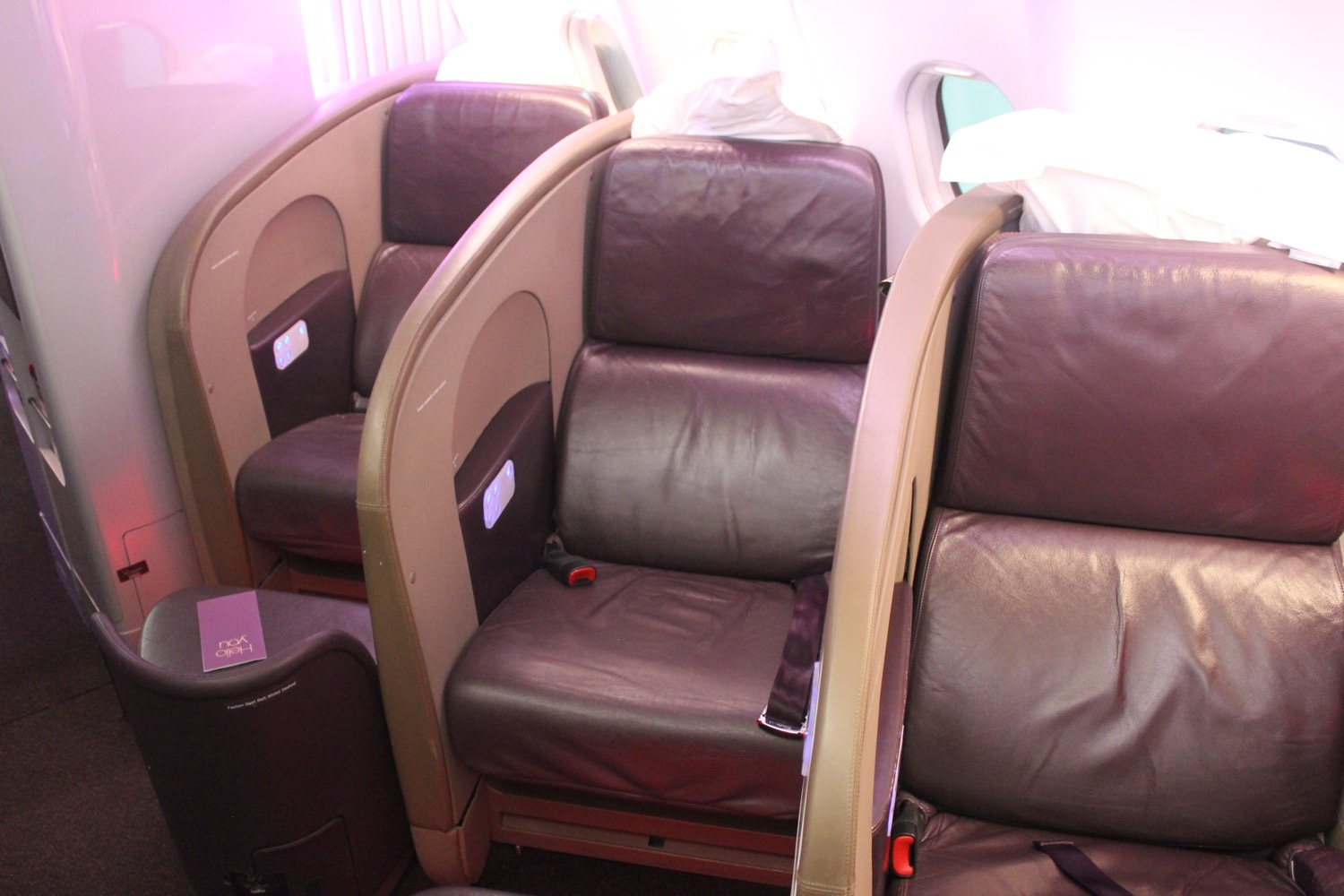 Virgin Atlantic A343 Upper Class Review - 13