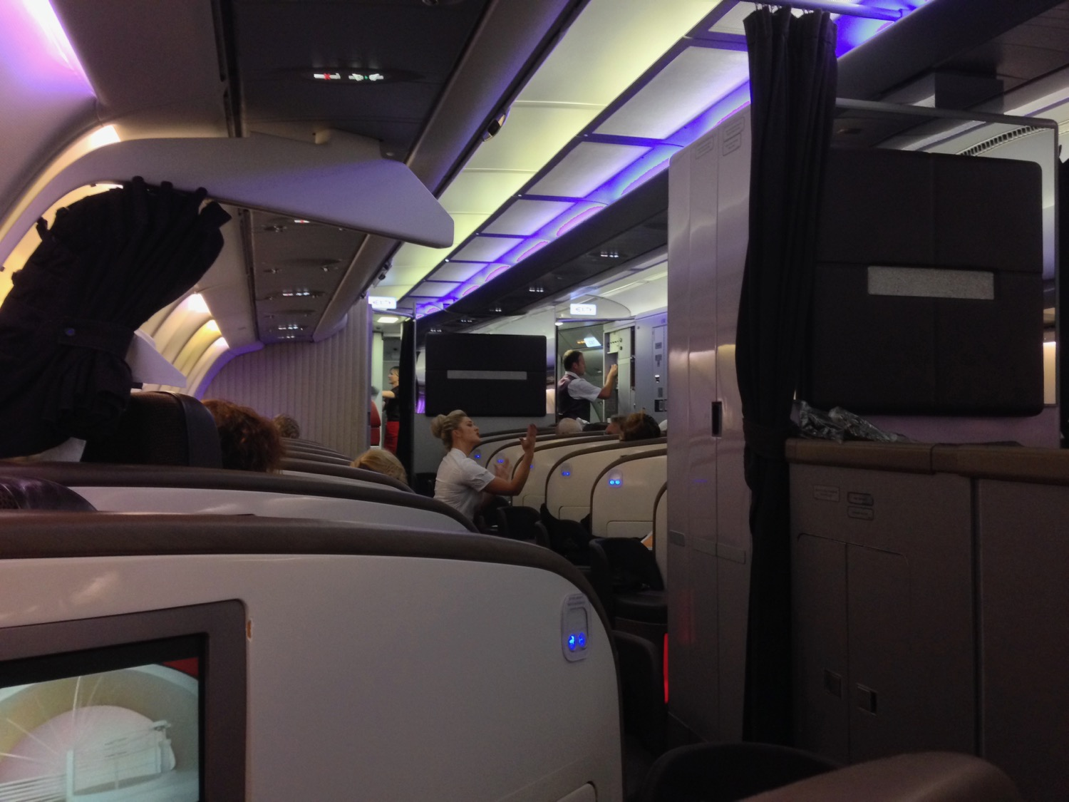 Virgin Atlantic A343 Upper Class Review - 39