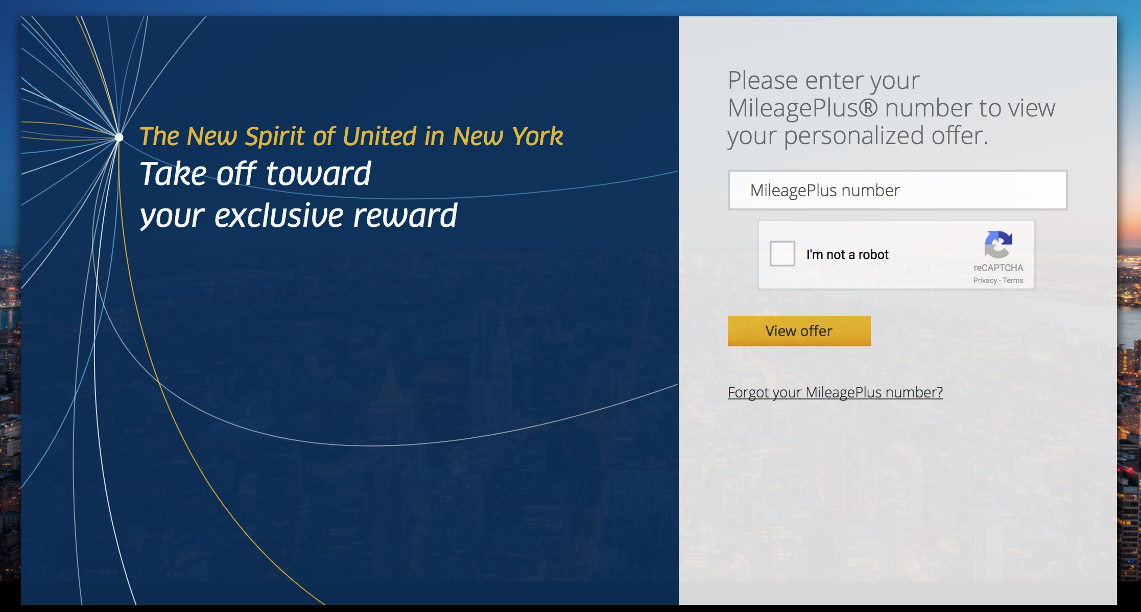 New Spirit of United New York Offer 01