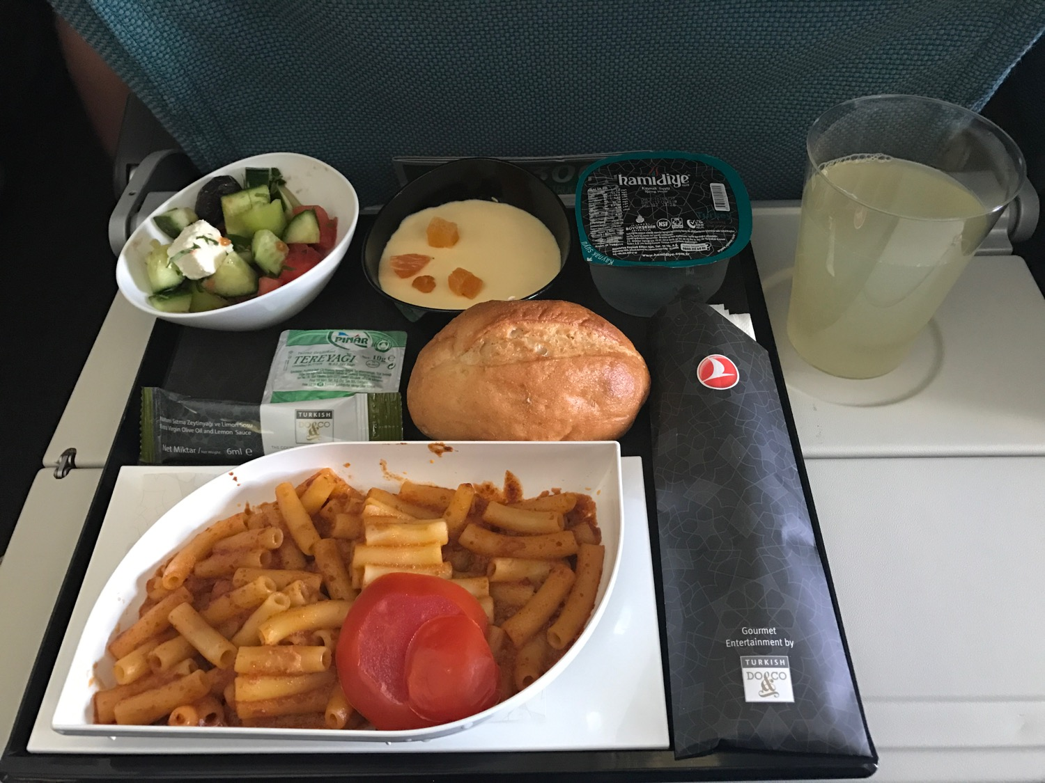 Turkish Airlines Economy Class Meals - 10