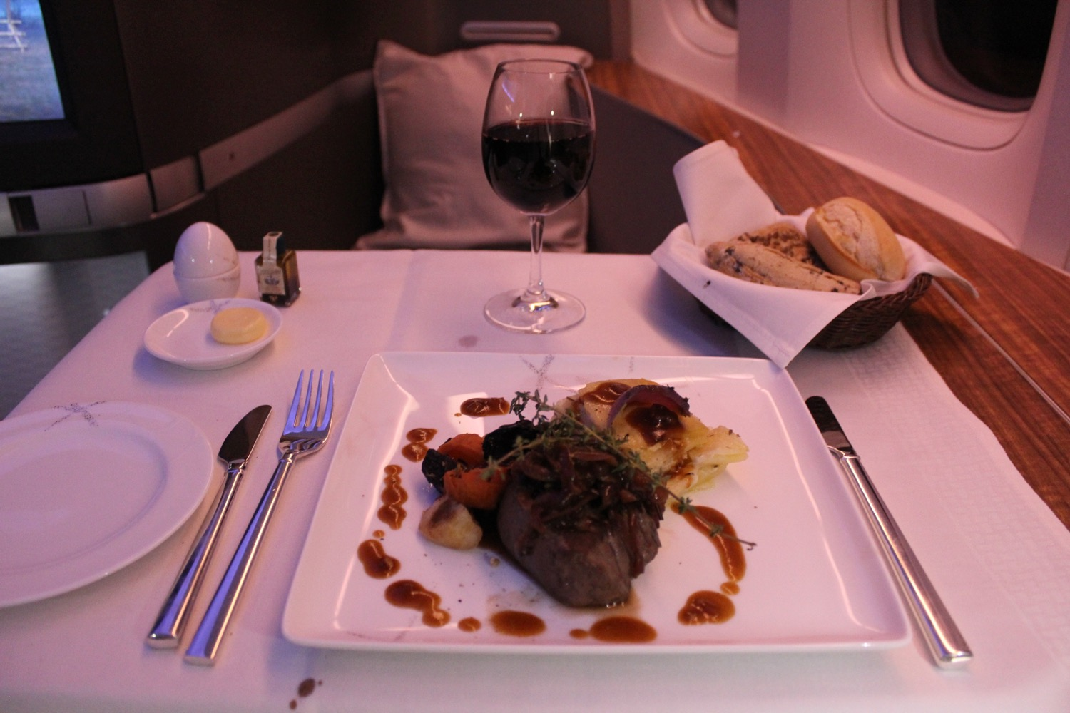 Cathay Pacific First Class Review - 23