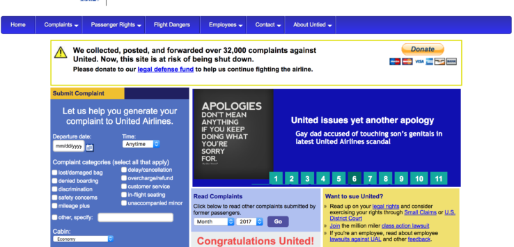 United Wins Untied Lawsuit