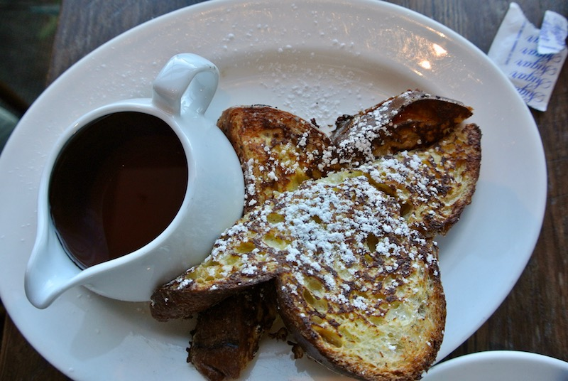 One slice of french toast