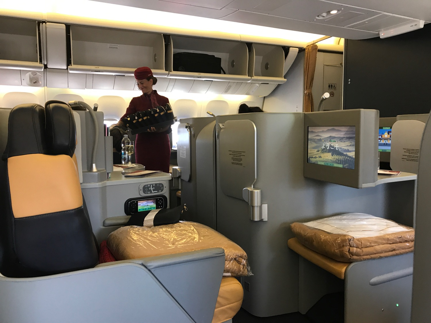 magnifico alitalia business class from rome to la live On business roma