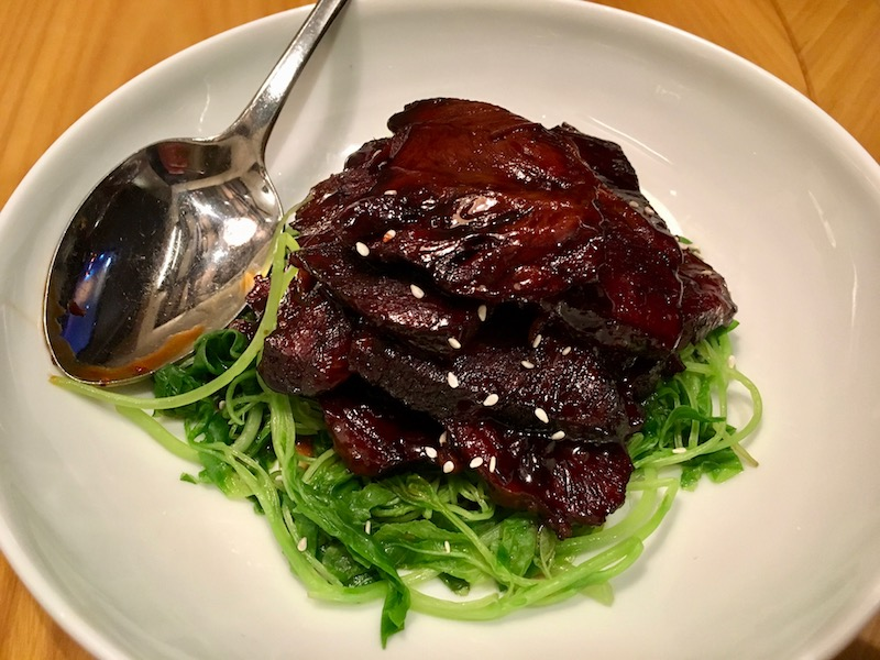 Chinese style beef