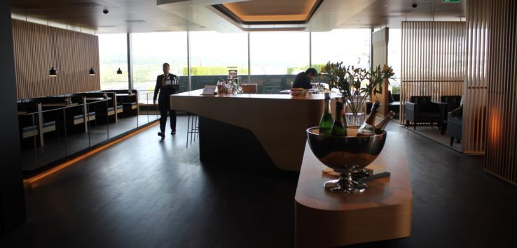 SWISS First Class Lounge Review Zurich