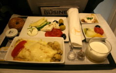 Turkish Airlines Turkey Dinner
