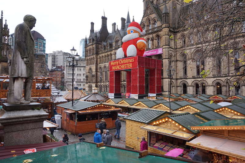 The Manchester Christmas Markets.