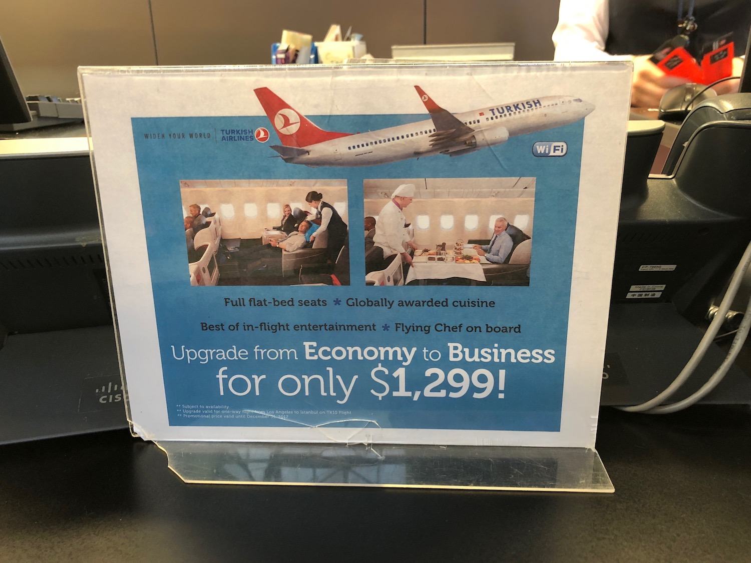 Business Class Upgrades on Turkish Airlines at the Airport - Live and Let's  Fly