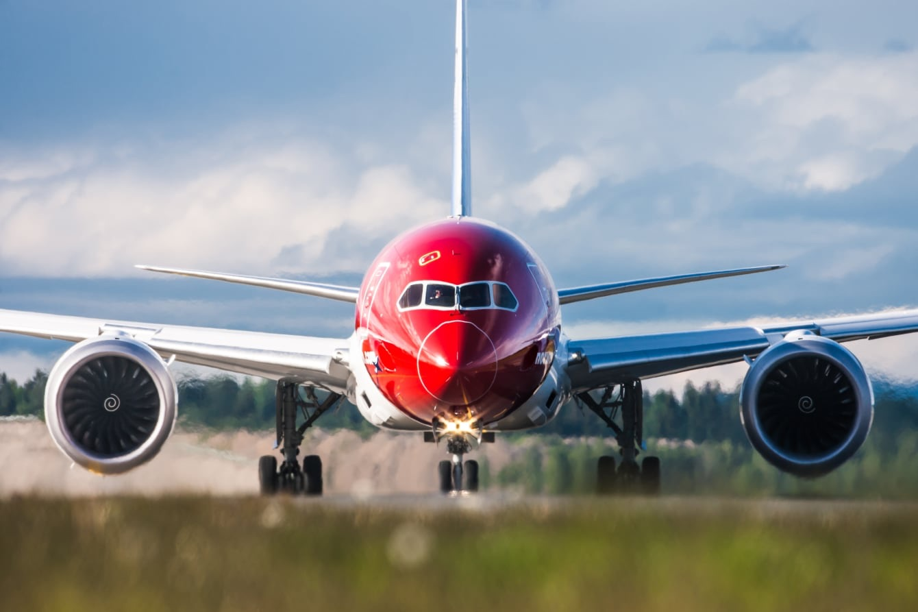 norwegian 787 sets transatlantic speed record live and let s fly