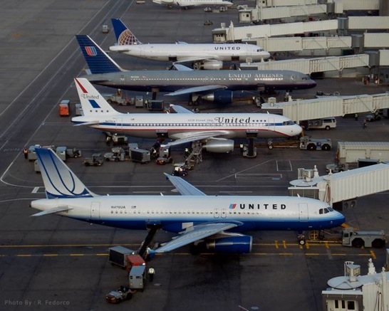 united-airlines-four-liveries
