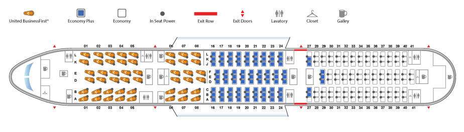 United Airlines Releases Boeing 787 9 Dreamliner Seat Map