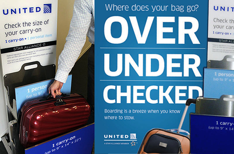 United Airlines Carryon Baggage Policy 02 Checked Fees Are Here