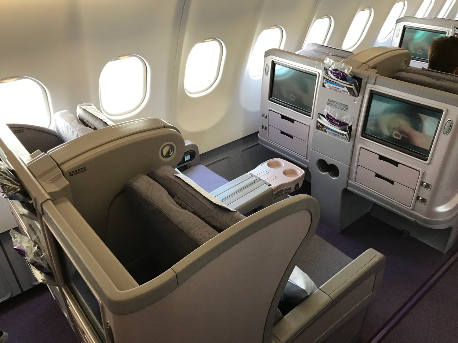China Airlines A330 Business Class - 10
