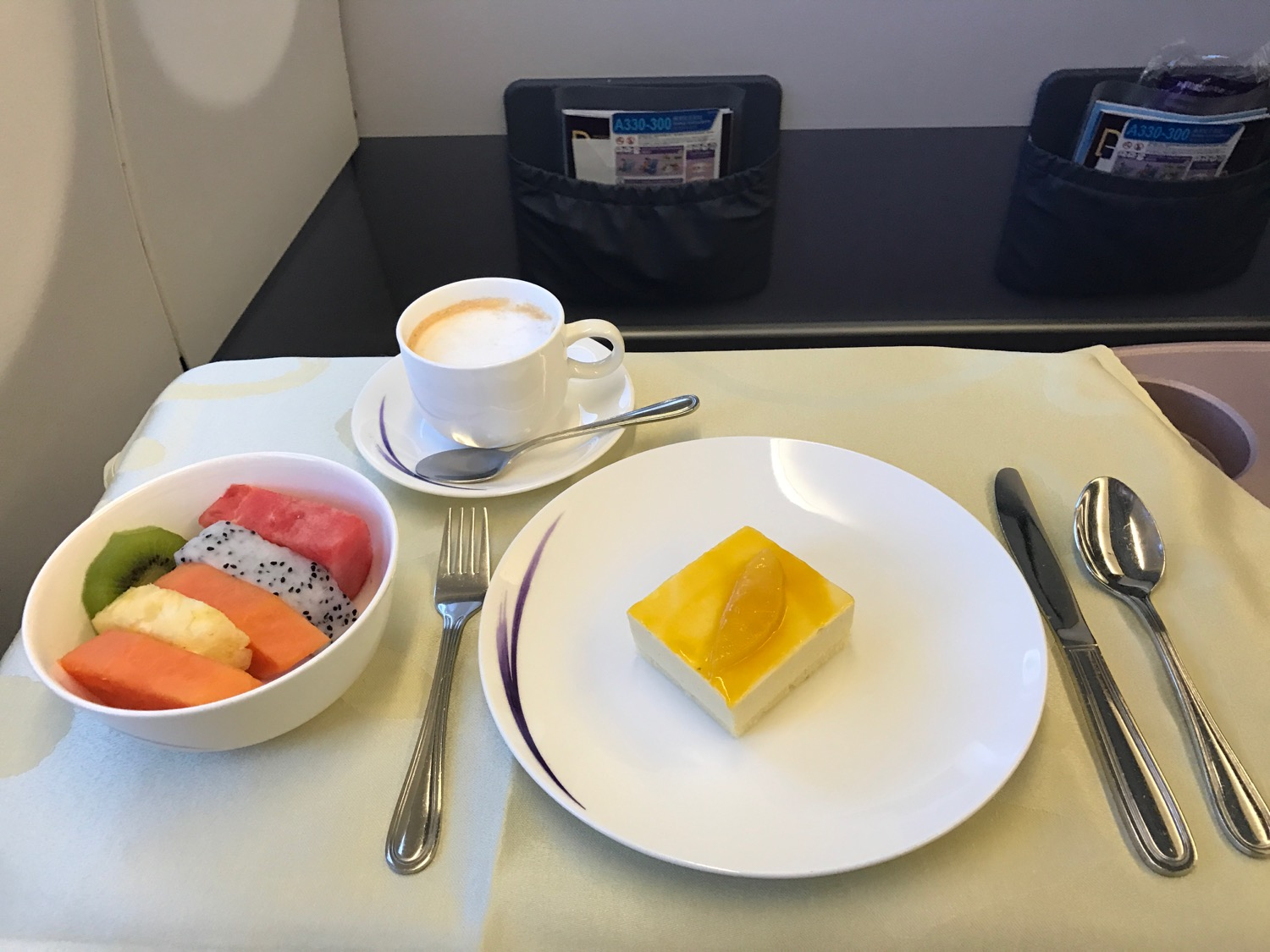China Airlines A330 Business Class - 4