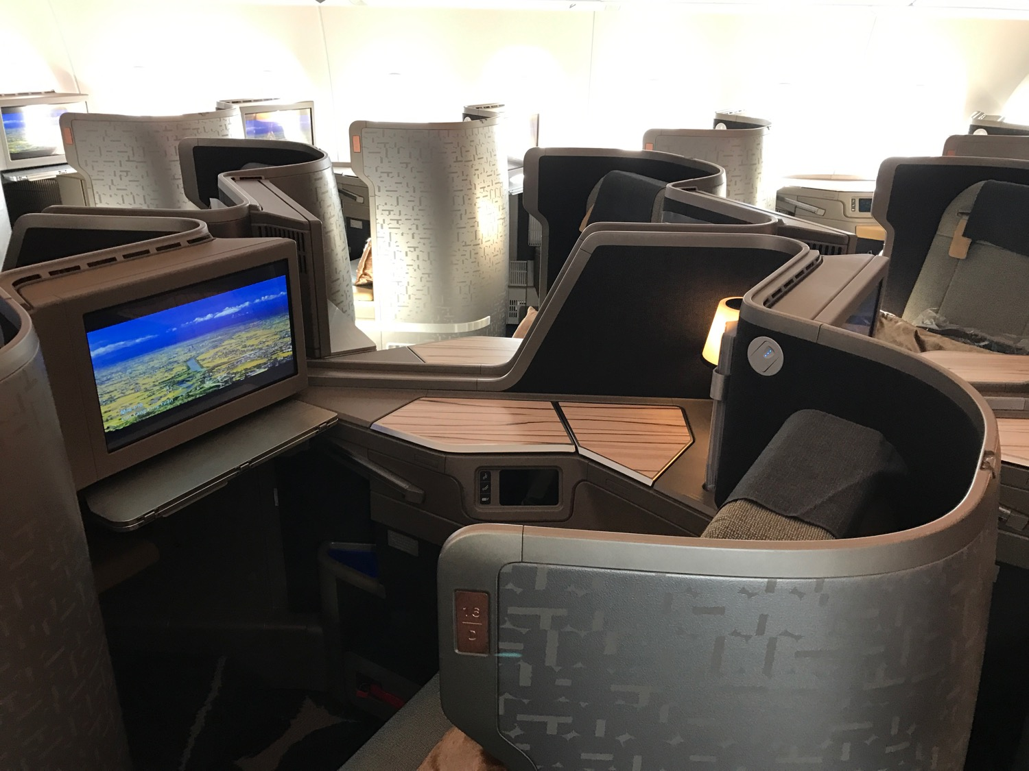 China Airlines A350-900 Business Class - 10