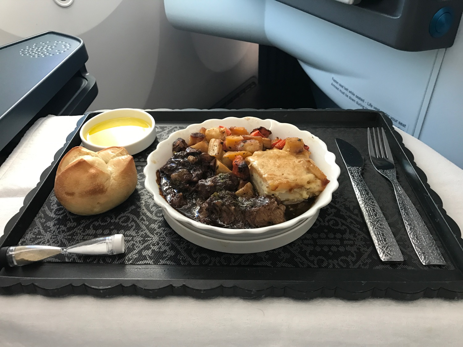 KLM 787 Business Class Review - 75