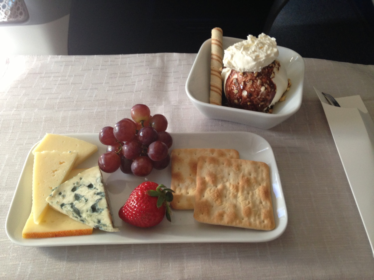 Delta One Business Class Meal - 11
