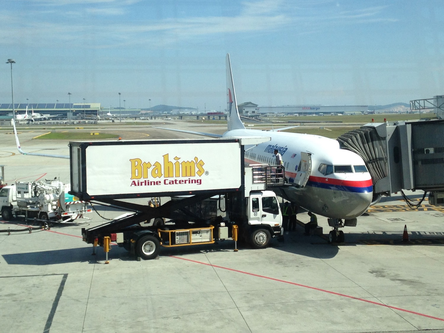 KUL to PNH on Malaysia Airlines - 1