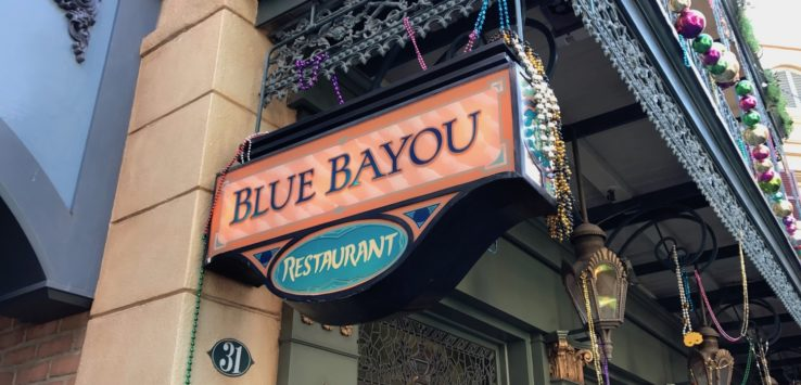 Blue Bayou Disneyland Review