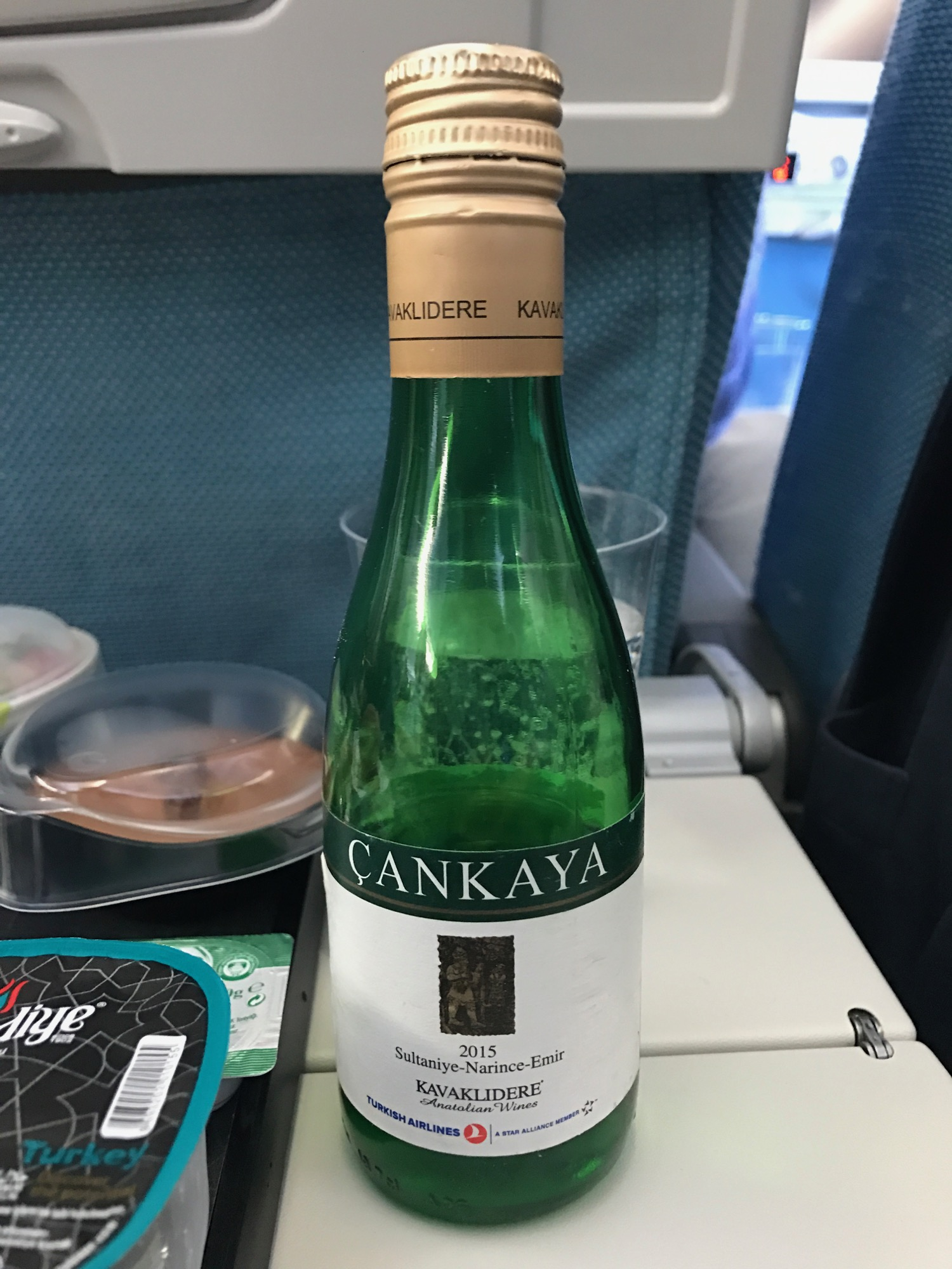 Turkish Airlines Economy Class Meals - 4