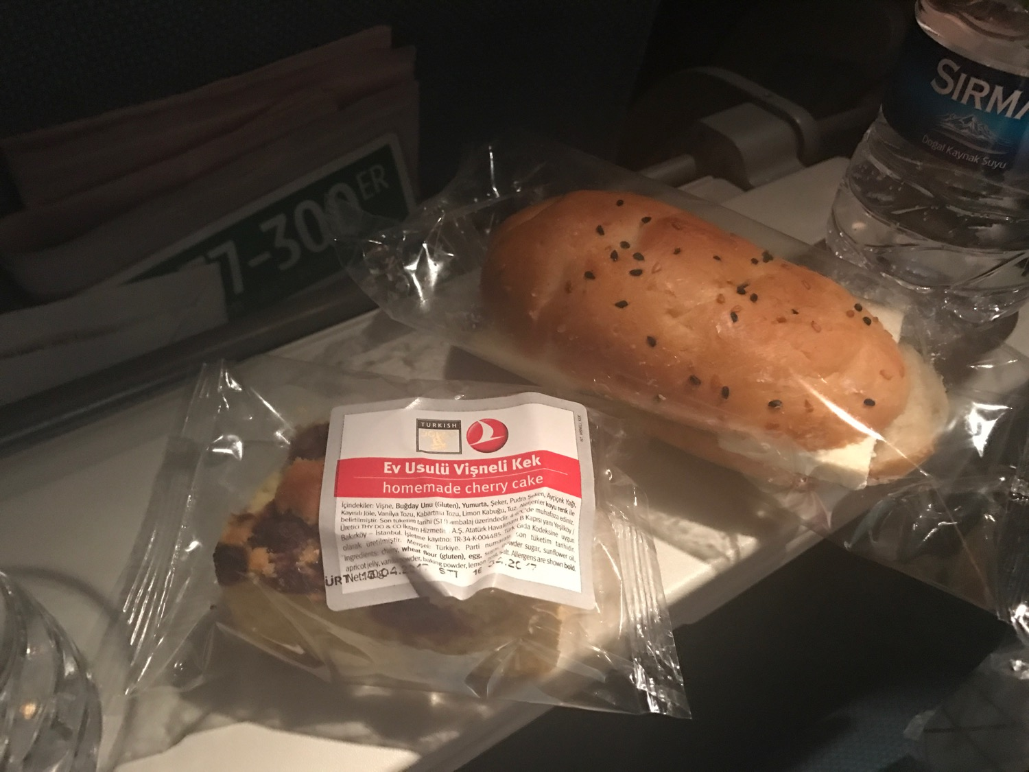 Turkish Airlines Economy Class Meals - 8