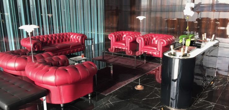 Cathay Pacific First Class Lounge Review