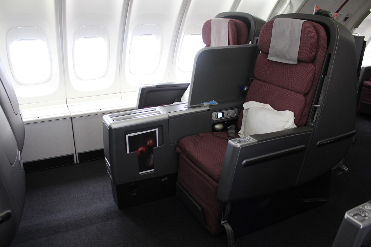 Qantas Business Class 747 Review - 41