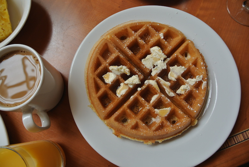 Highly recommended waffle