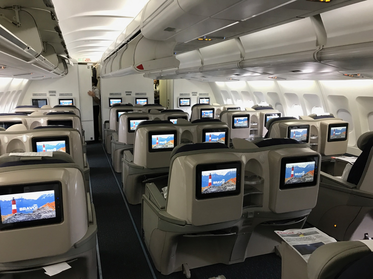 How Bad Was Aerolineas Argentinas Business Class Live And Let S Fly