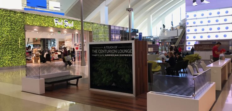 American Express Lounge LAX Update