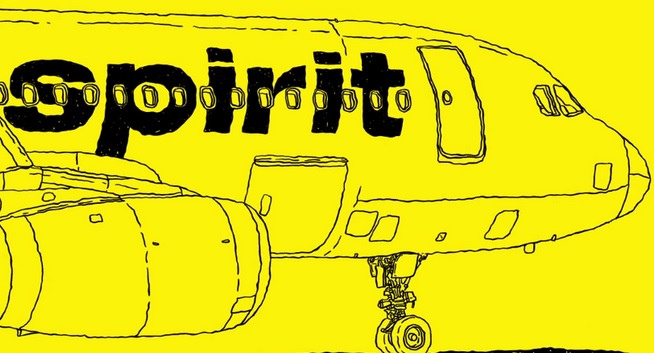 Spirit Airlines Redeye