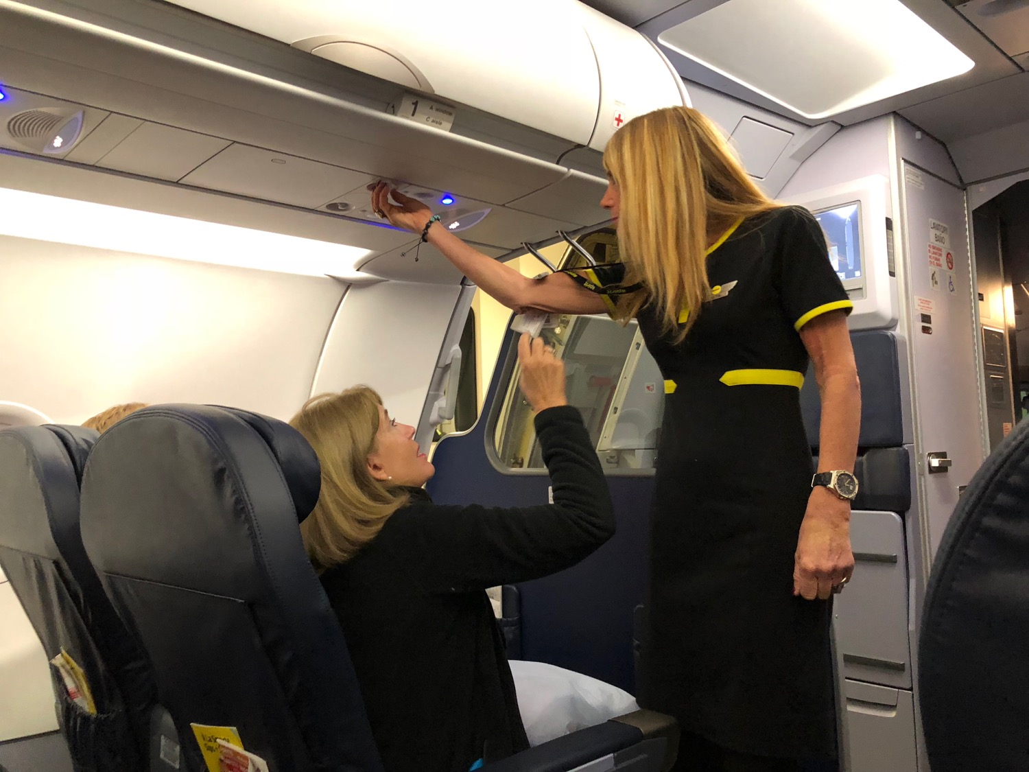 Review Spirit Airlines Big Front Seat Los Angeles To Ft