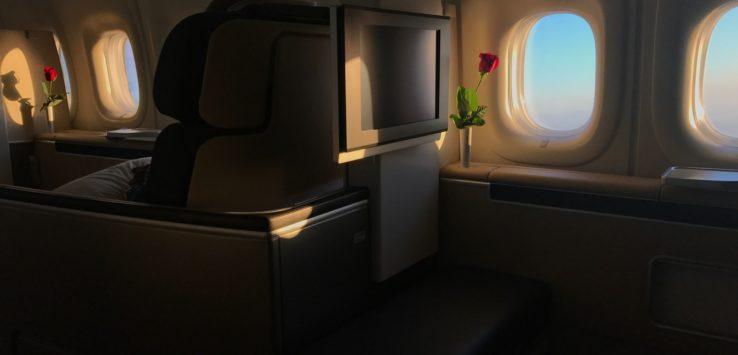 Lufthansa 747-8 First Class Review