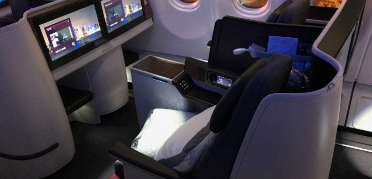 Qatar Airways A330 Business Class