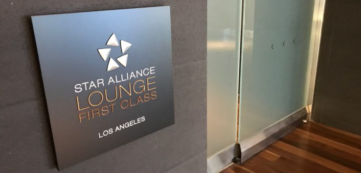 Star Alliance First Class Lounge Los Angeles LAX Review