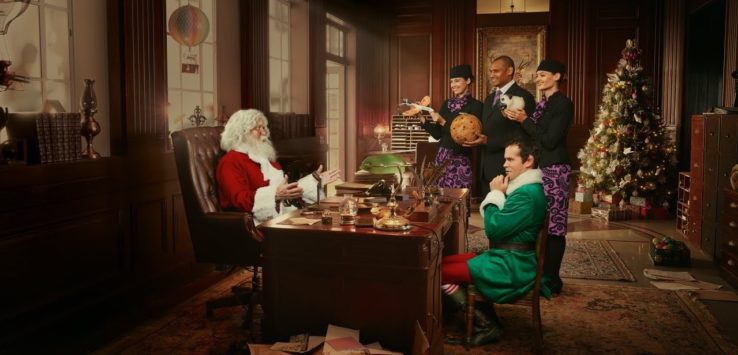 Air New Zealand Christmas Video