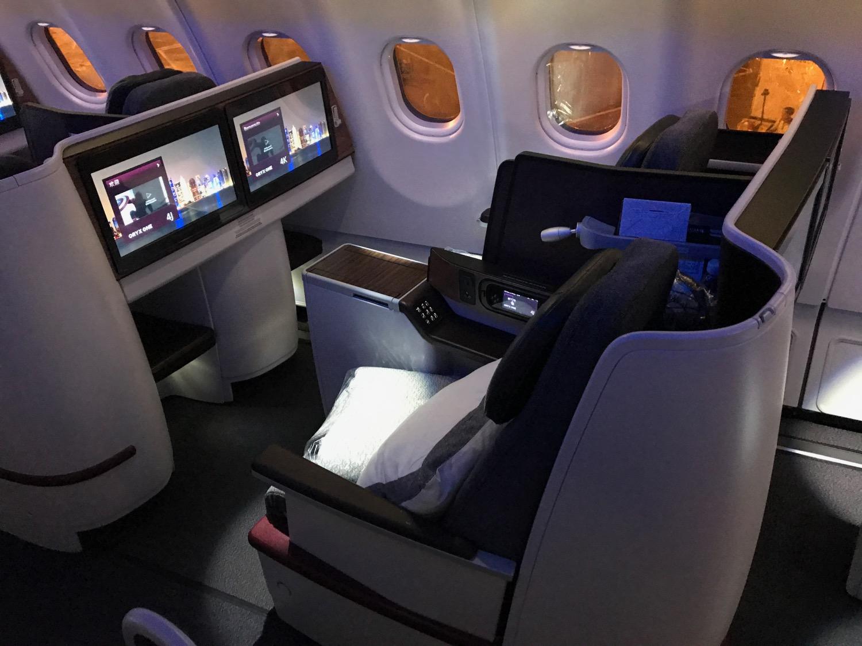 Qatar Airways A330 Business Class Review