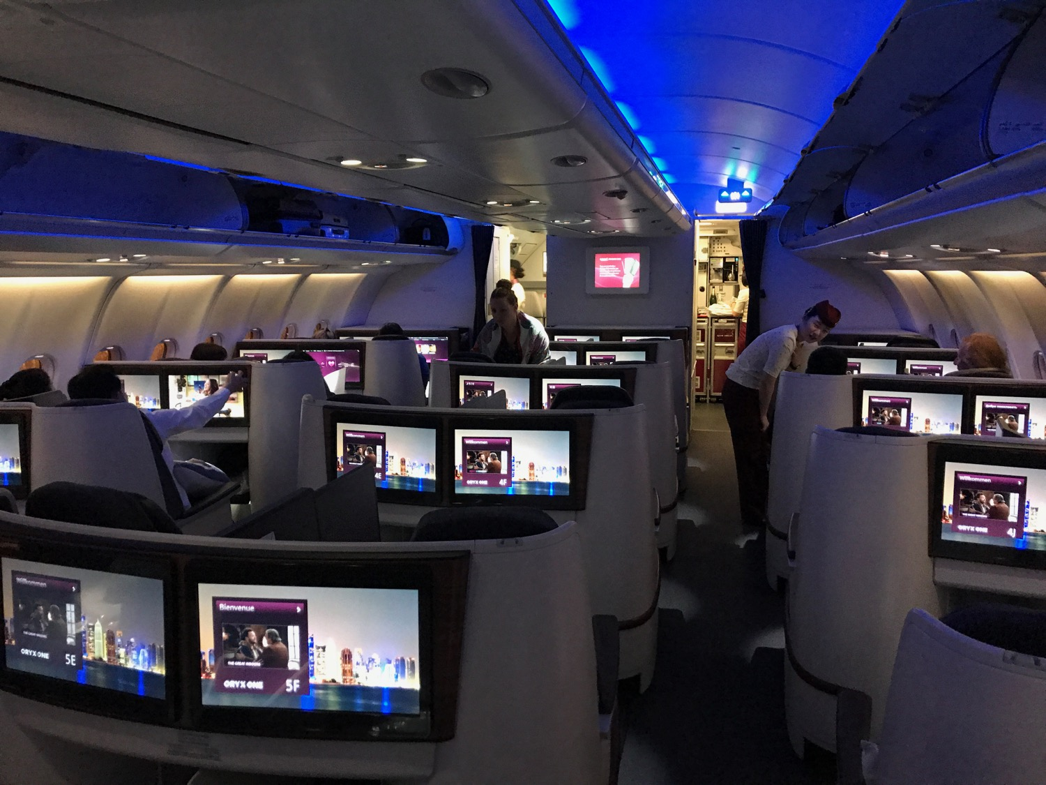 Review: Qatar Airways A330 Business Class Doha to Ho Chi