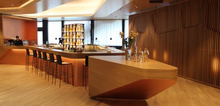 SWISS First Class Lounge A Gates Review