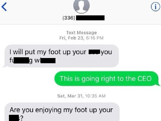 Customer: AA Agent is Sending Me Vulgar Text Messages! - Live and