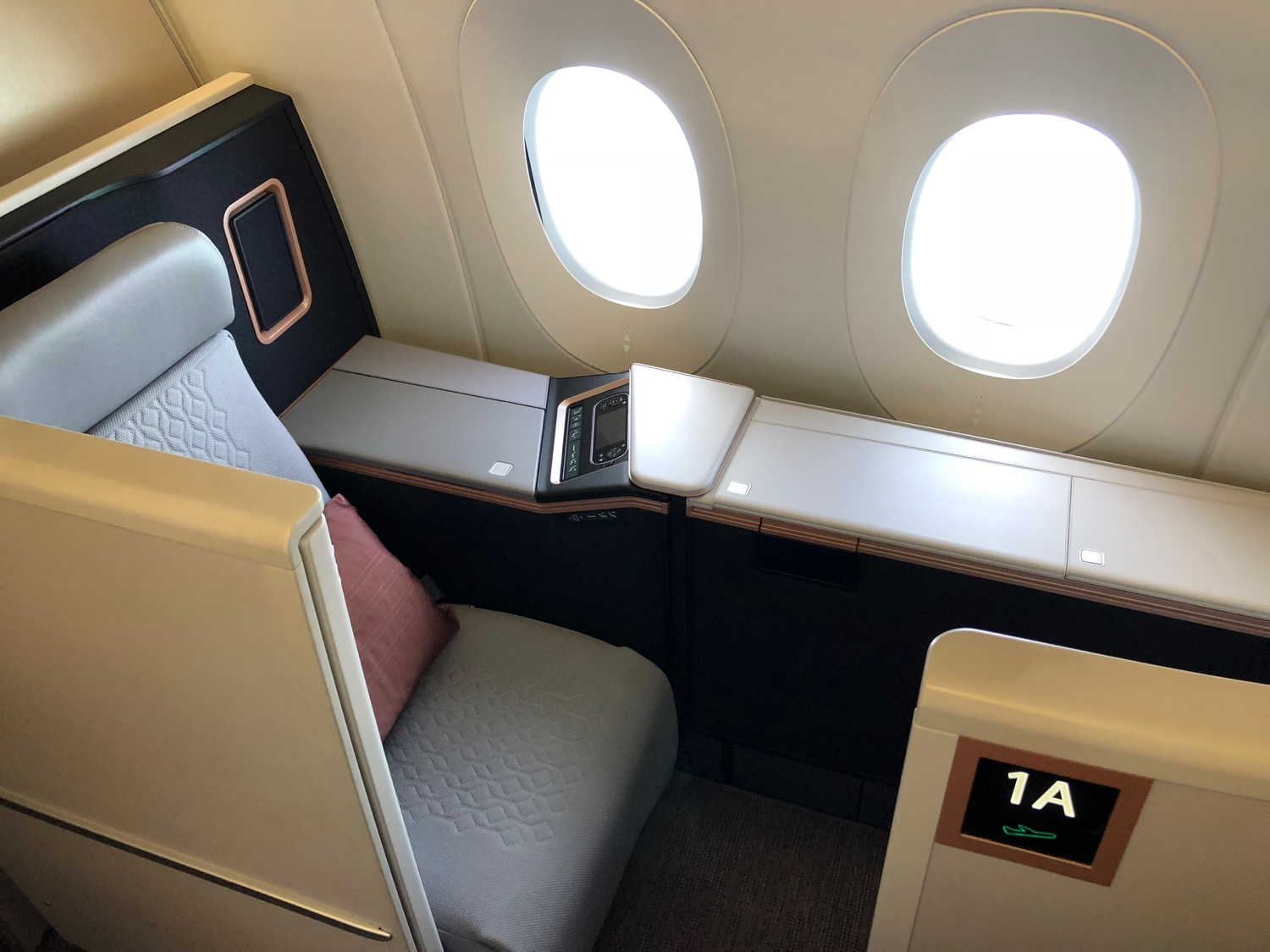 Malaysia Airlines A350 First Class Review