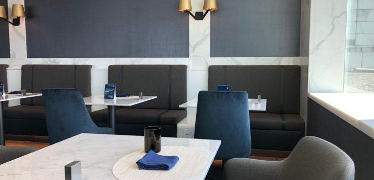 United Polaris Lounge SFO Dining Review